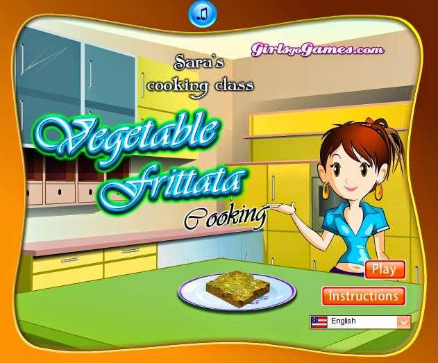 Game Masak Vegetable Frittata