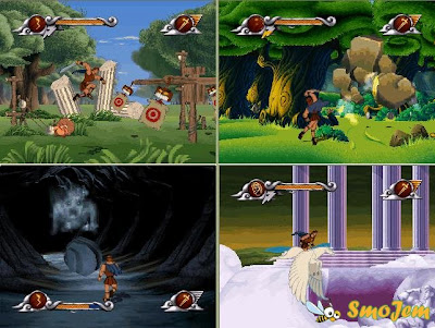 Disney Hercules Game Screenshots