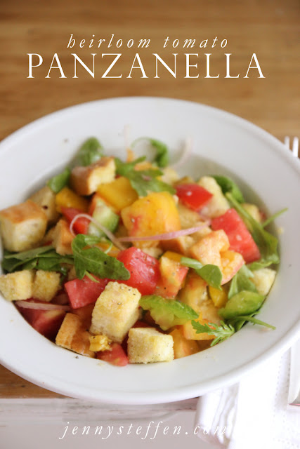 Jenny Steffens Hobick: Heirloom Tomato Panzanella