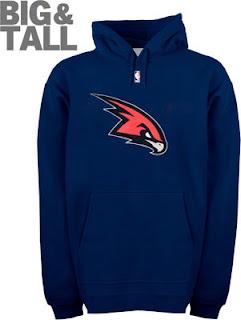 Atlanta Hawks Big and Tall Sweatshirt