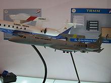 Model of DRDO AWACS
