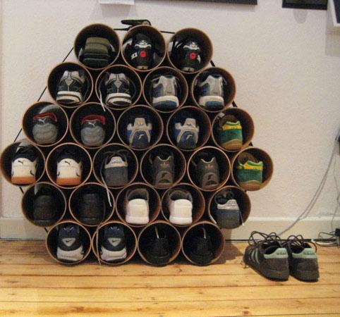 Organizadores caseros para zapatos - Organizador de zapatos casero ...