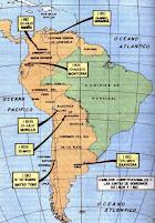 JUNTAS DE GOBIERNO EN AMÉRICA Y LÍDERES DE LA INDEPENDENCIA EN AMÉRICA