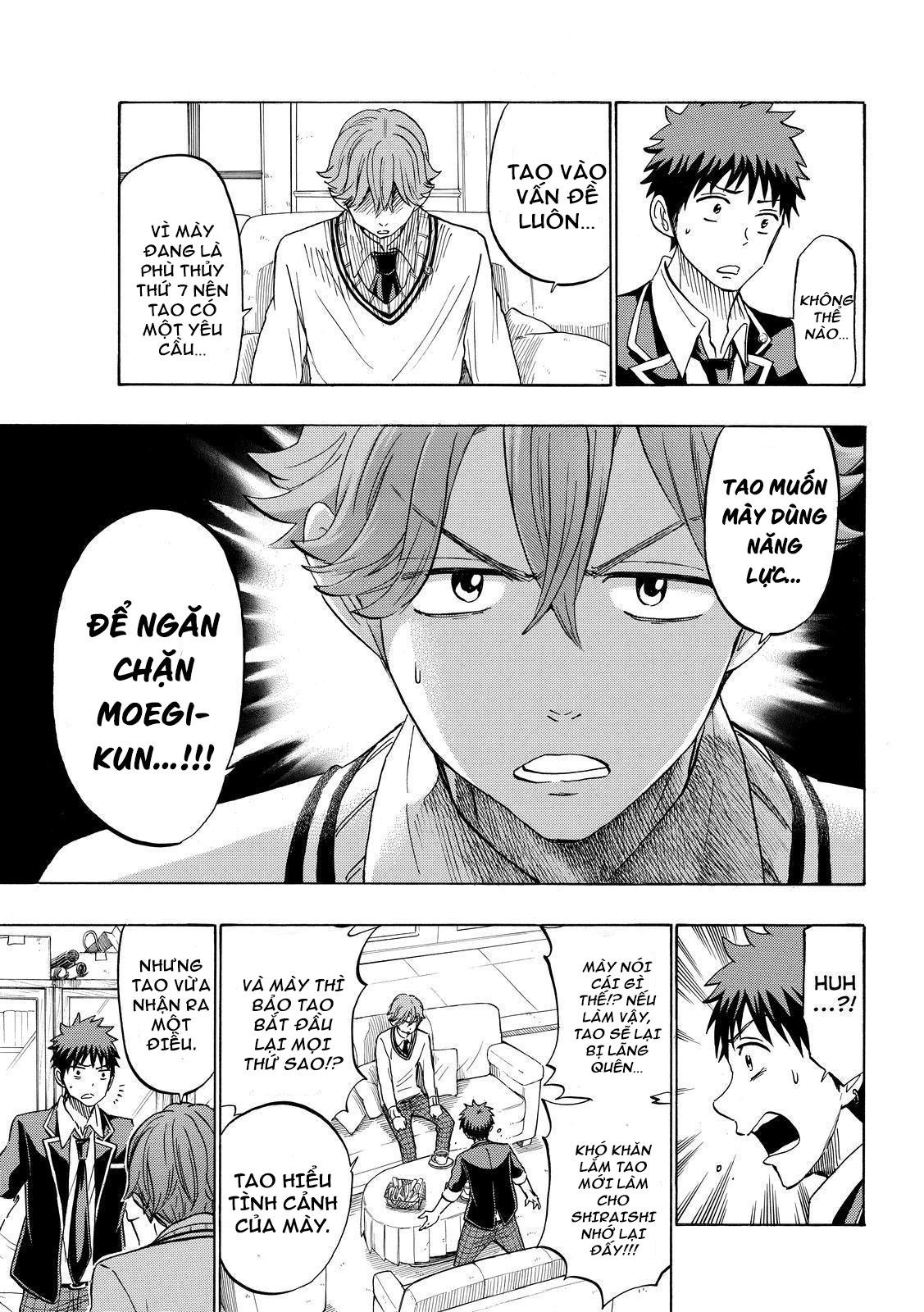 Yamada-kun to 7-nin no majo chap 175 Trang 6 - Mangak.info