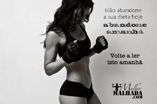 mensagem motivacional musculação feminina