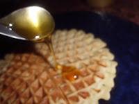 gofres con miel