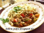 Bravčový perkelt - recept