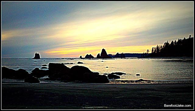 sea stack silhouette