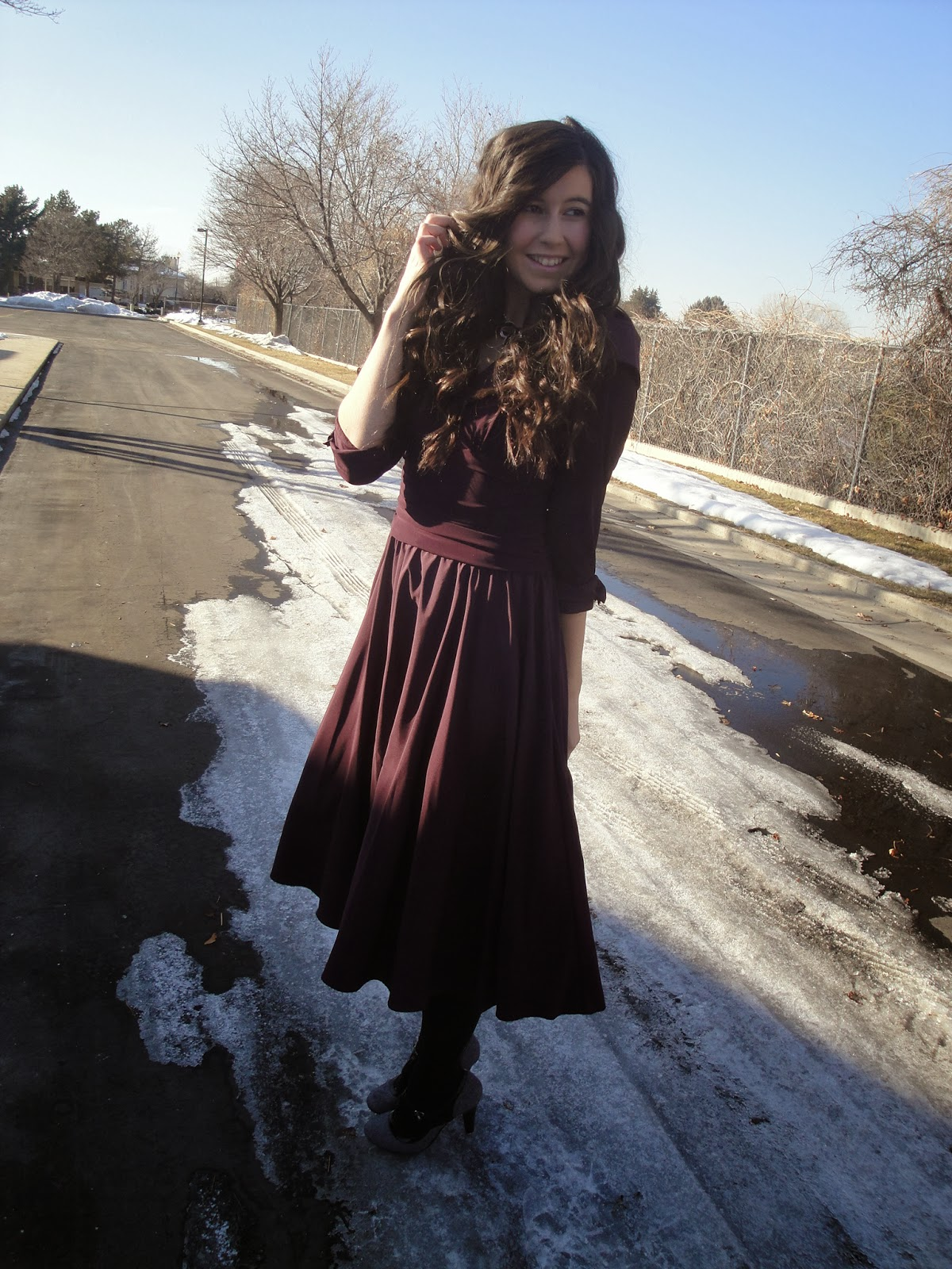 vampire diaries style, 1800's dress, Victorian dress, vampire diaries inspired, pretty, curly hair, bellami hair extensions, bellami hair, long dress, heels, cute dress outfit, outfit, Victorian attire,