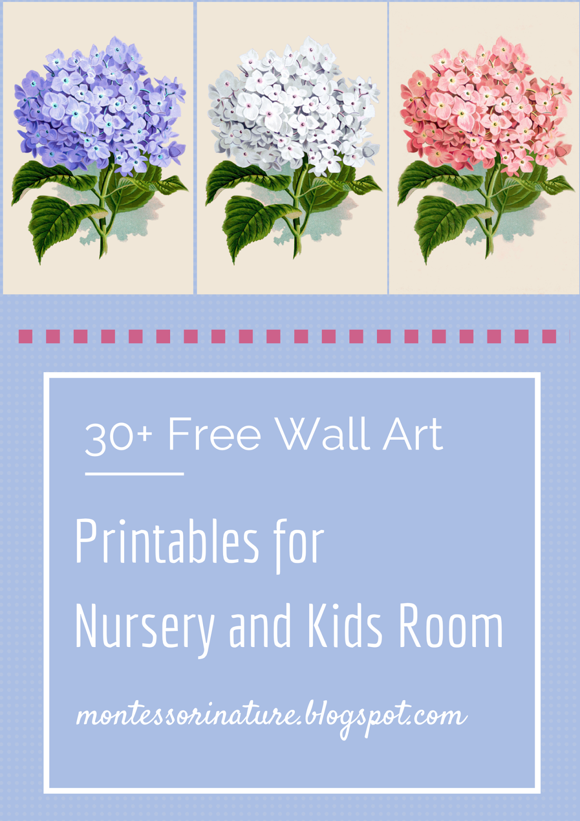 30+ free wall art printables for nursery and kids room. - montessori