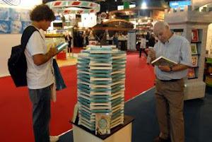 Un aspecto de la última feria del libro de Buenos Aires.-