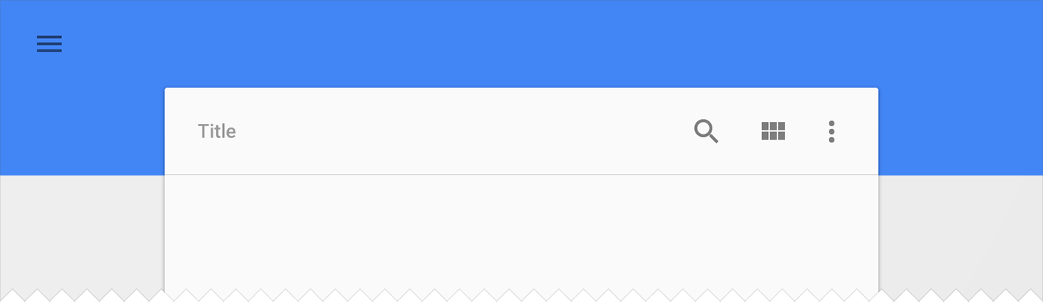 How To Make Material Design App Bar Actionbar And Style It