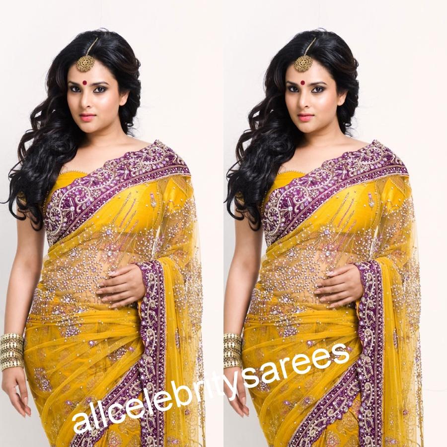 Wedding bridal sarees, Designer lehengas sarees, Salwar ...