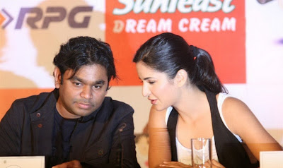 Katrina Kaif And A.R. Rahman Photos
