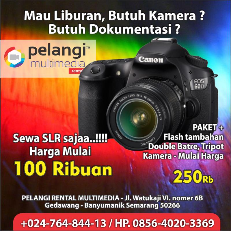 sewa kamera slr / +0856-4020-3369