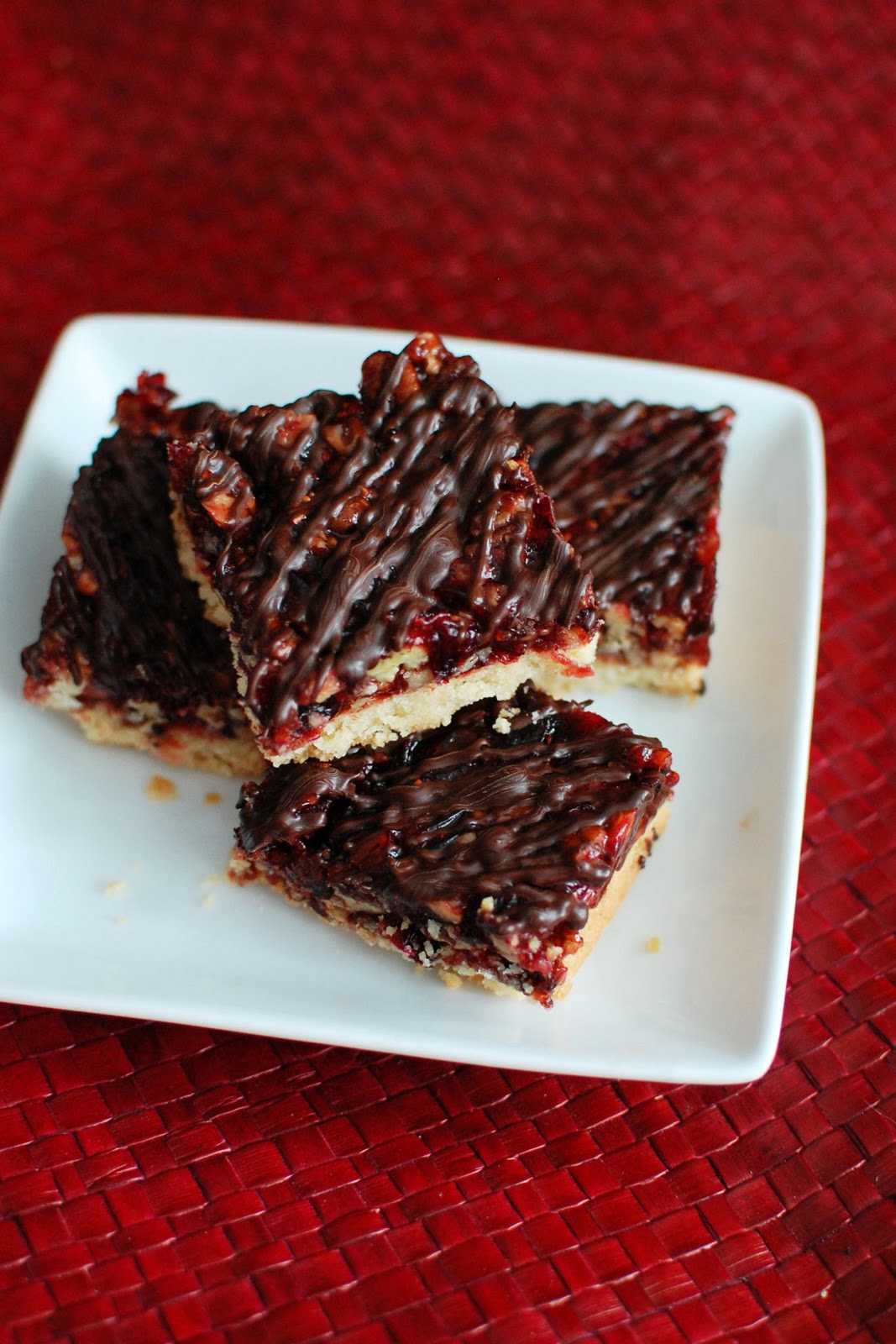 Cranberry Turtle Bars for Amy's Virtual Baby Shower | Beantown Baker