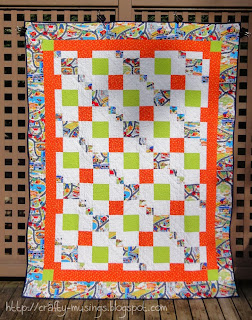 Spring Mystery Quilt, front view
