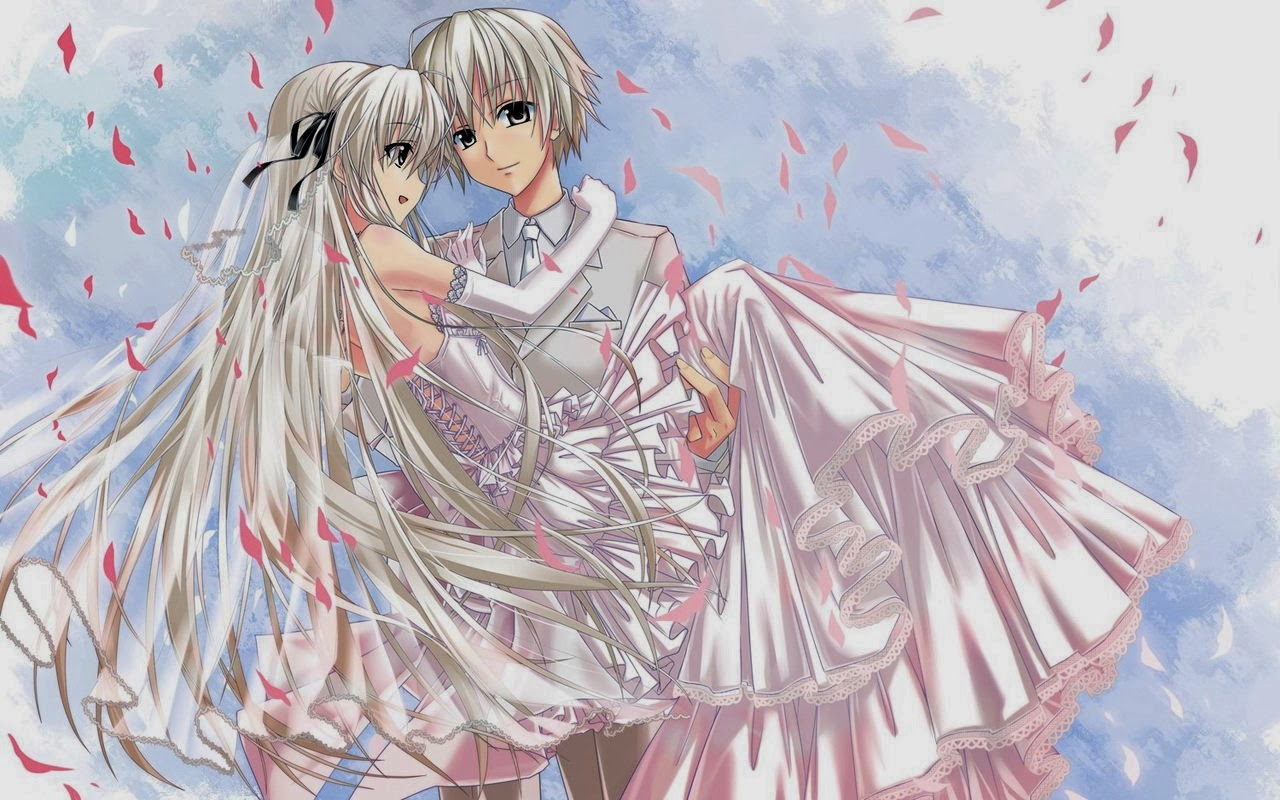 Anime Boy And Girl In Love Wallpaper : Romantic Boy and Girl anime wallpaper 2014 - 2015 ~ charming collection of Photos - Amusement