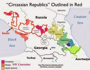 http://www.geocurrents.info/place/russia-ukraine-and-caucasus/caucasus-series/dreams-of-a-circassian-homeland-and-the-sochi-olympics-of-2014