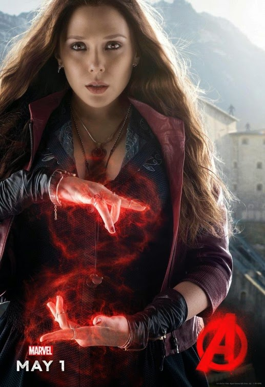 Scarlet Witch Avengers Age of Ultron poster