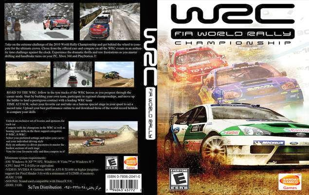 1i G8 N  WRC World Rally Championship 3 SKIDROW wrc fia world rally championship front cover 56146 5B1 5D