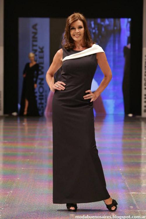 Adriana Costantini otoño invierno 2014 vestidos 2014 de noche.