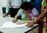 "Hirunika Premachandra Signs Nominations To Contest Under ""Elephant"" Symbol"