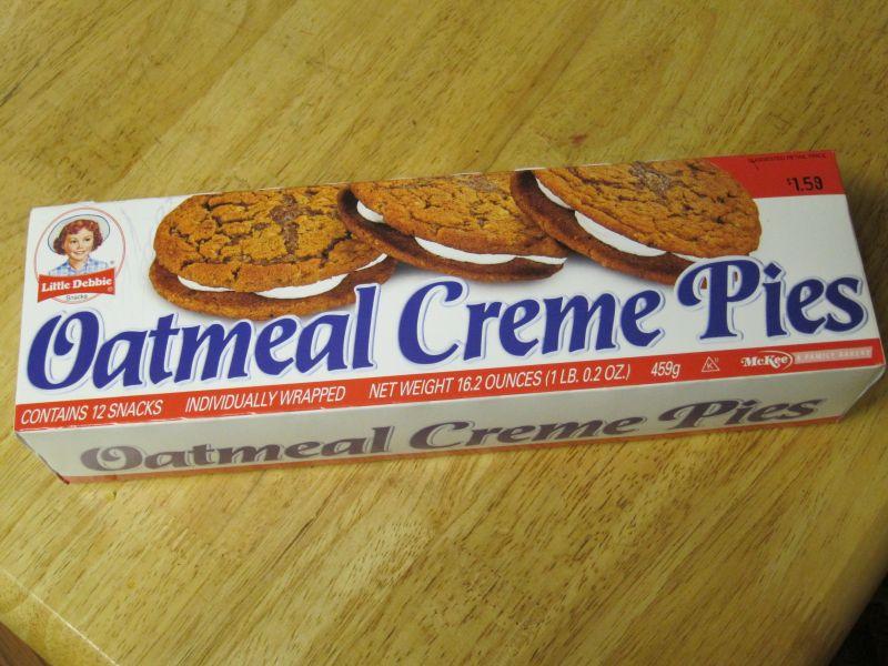 lil debbies oatmeal cream cookies