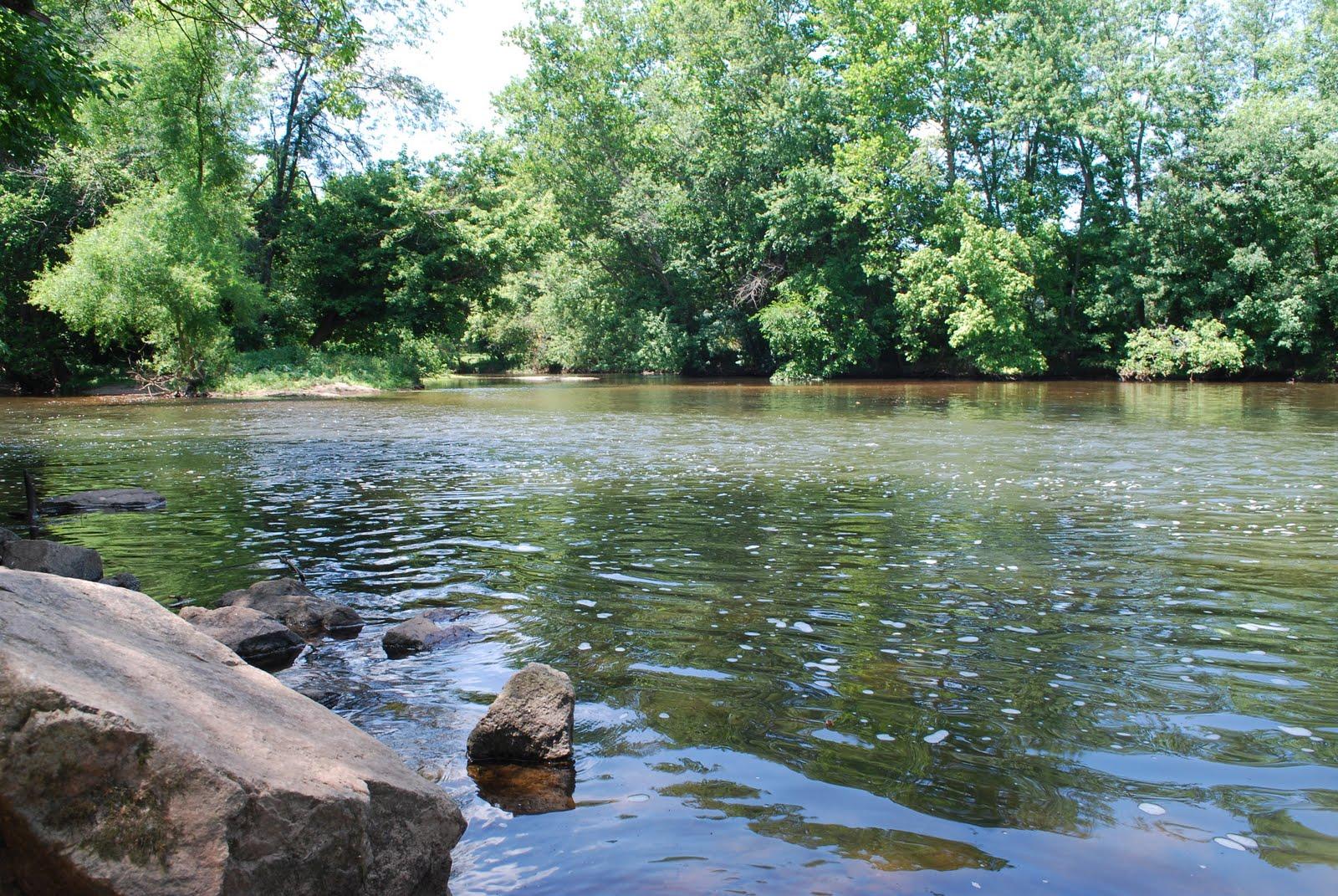 Litton 39 s fishing lines south branch raritan river for Raritan river fishing