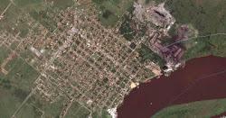 Vista aérea de Villa Hayes