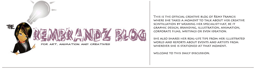 The Rembrandz blog for art, illustration and creatives