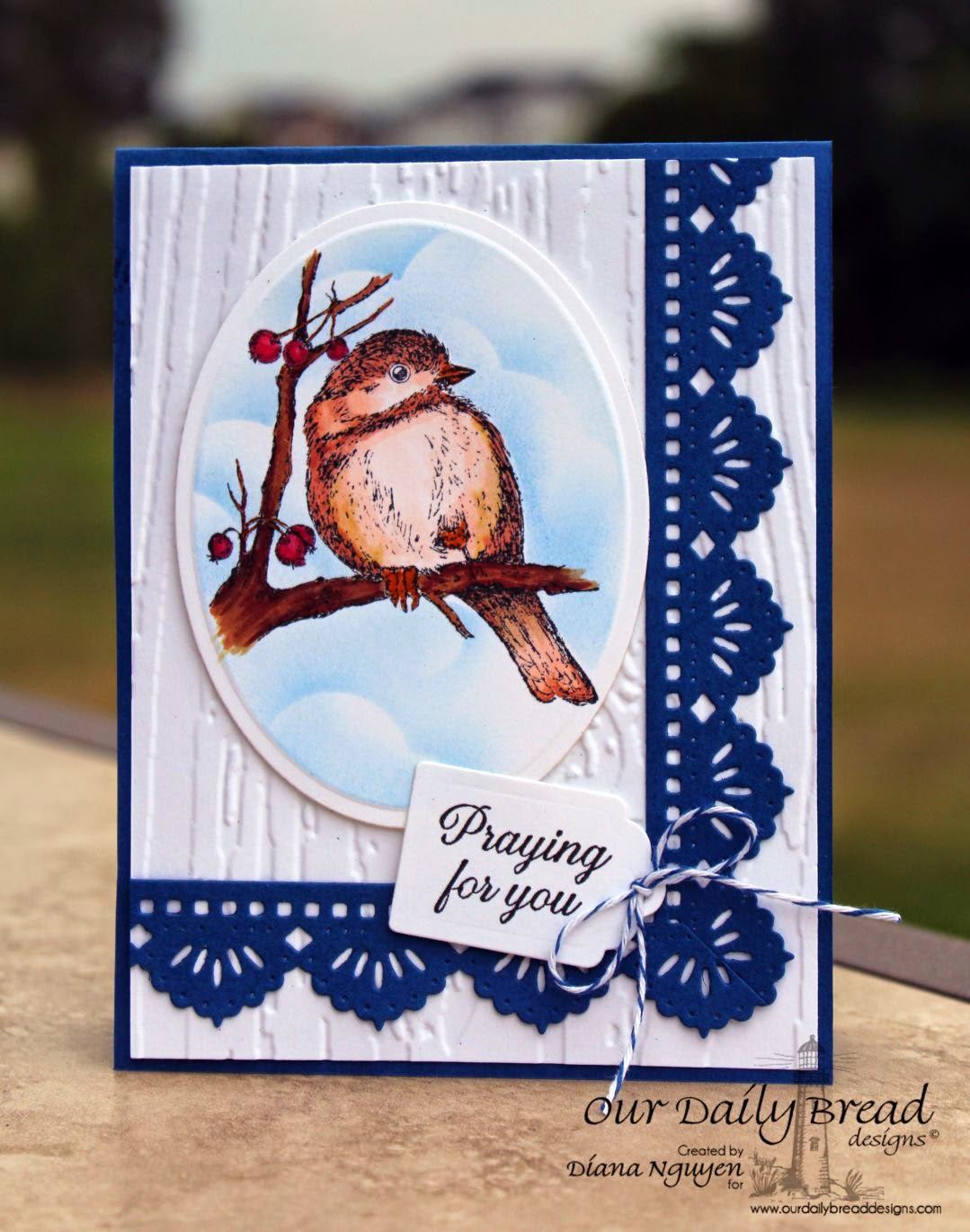 Our Daily Bread Designs, You Will Find Refuge, Ornate Frame Sentiments, Beautiful Borders, Recipe and Tag Dies, Designed by Diana Nguyen