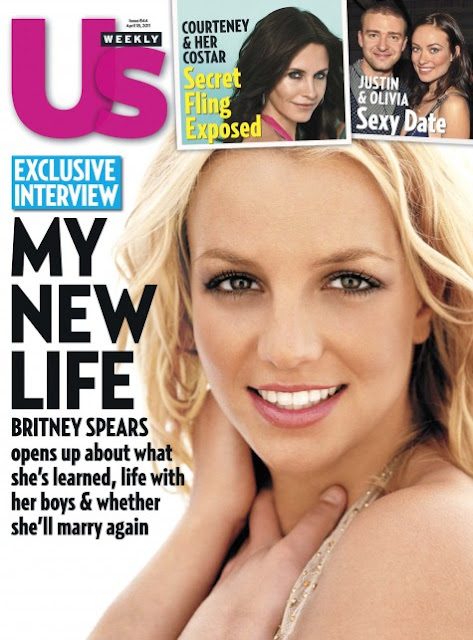 Britney Spears Us Magazine Cover