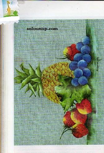 Moldes De Frutas Para Pintar En Tela