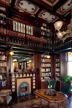 Victorian Mansion Library