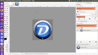 GIMP com cara de Photoshop