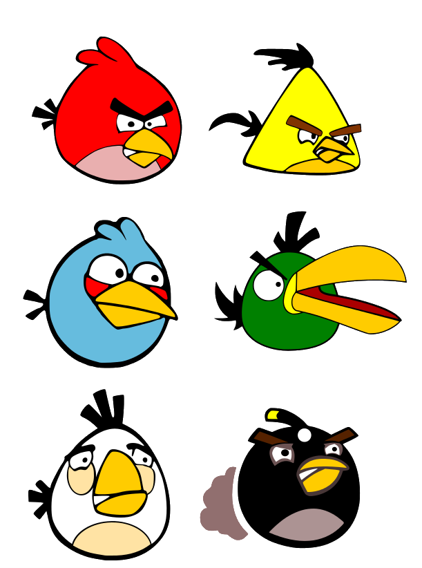 Images of Angry Birds Characters Names - #SpaceHero