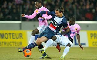 Evian Thonon Gaillard 2 - 0 PSG
