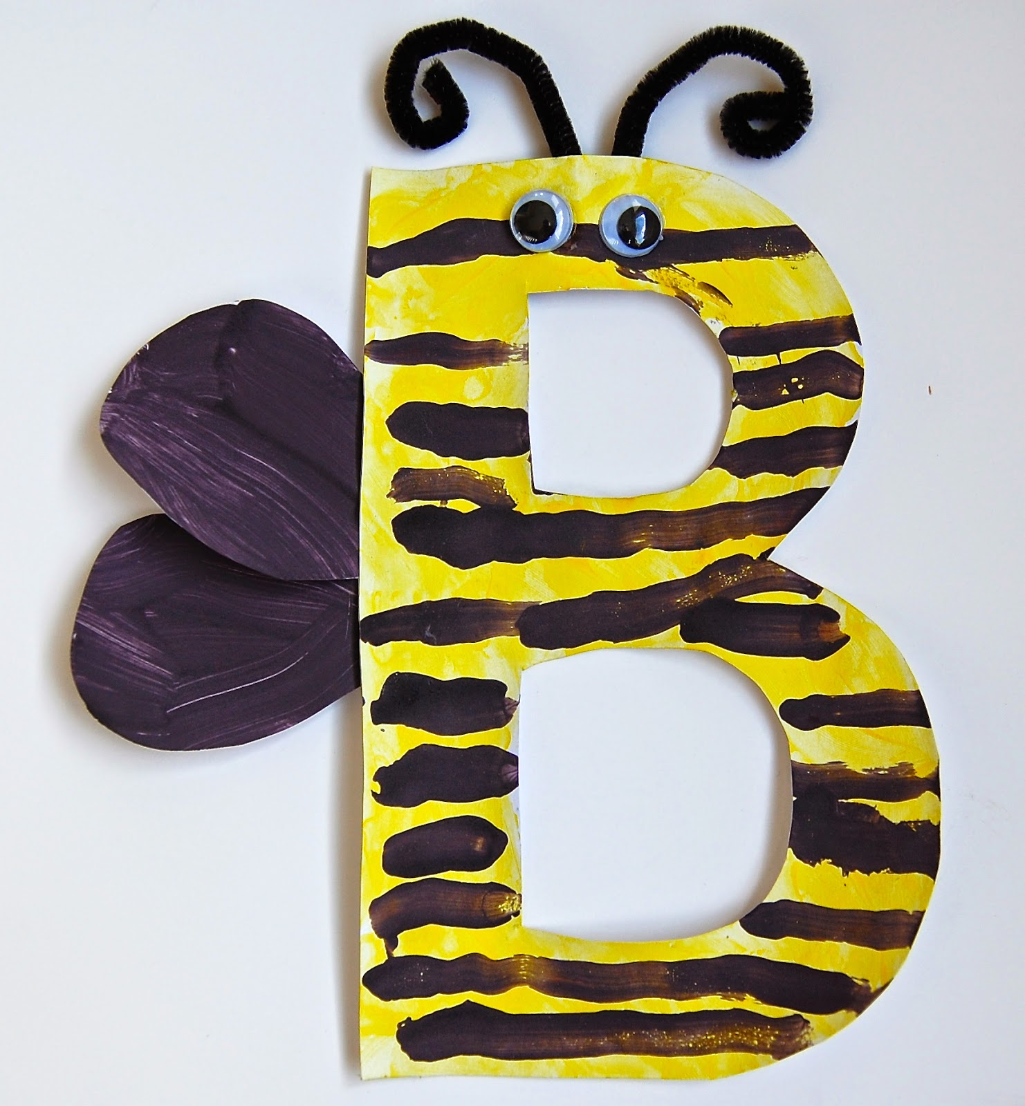 b is for bee craft