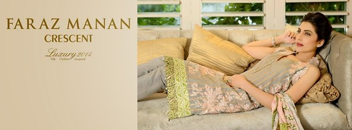 Faraz Manan Crescent Luxury Midsummer Eid Dresses