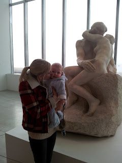Turner contemporary, the kiss, art