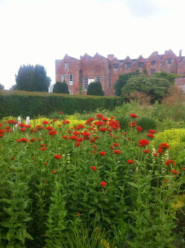 Poppies at Glemham Hall - Truly Vintage Wedding Fair