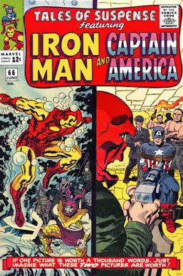 Tales of Suspense #66, Iron Man and Captain America, Red Skull, Attuma