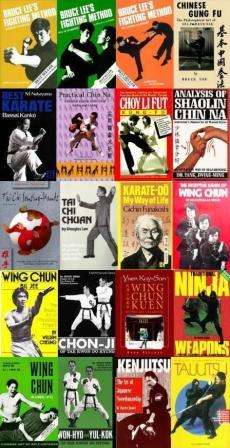 Buku martial art import murah