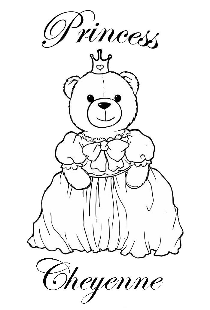 girl names coloring pages - photo#15