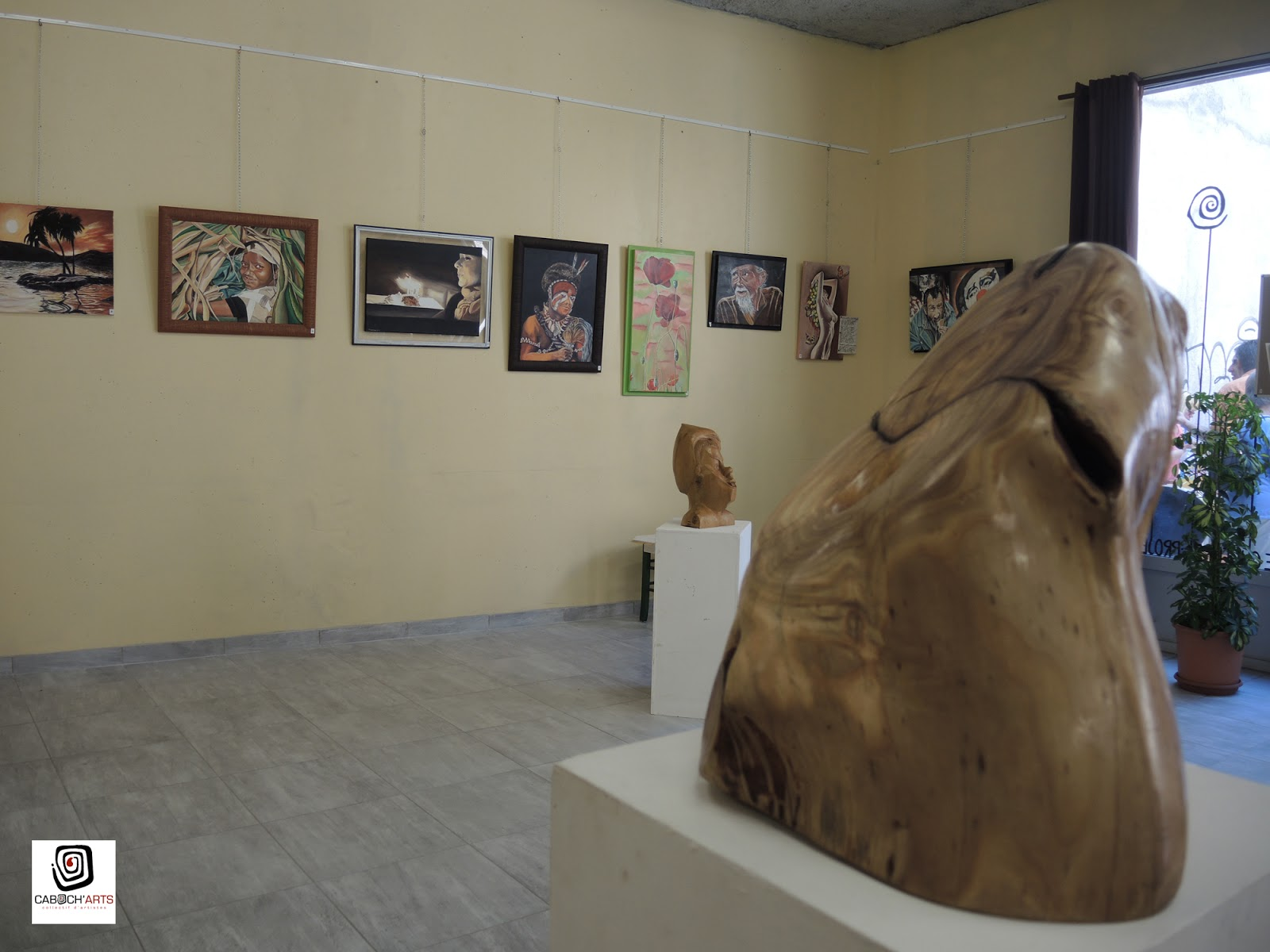 caboch u0026 39 arts  exposition peinture  u0026 sculpture   g u00e9rard