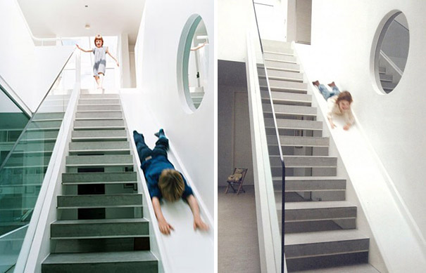 Staircase Slide Combo