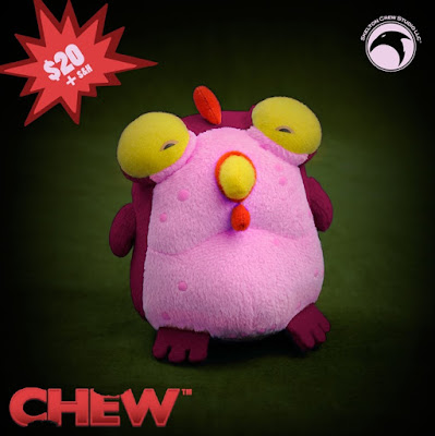 Kickstarter Exclusive CHEW Beet Chog Plush Figure by Skelton Crew Studio