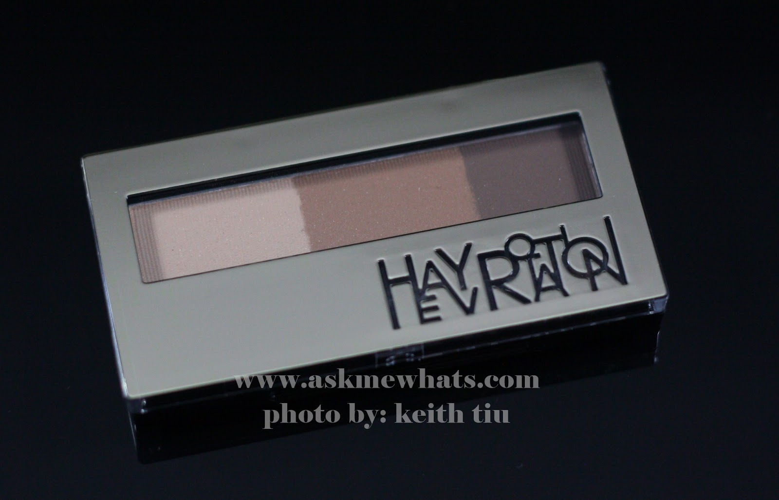 a photo of Heavy Rotation Powder Eyebrow and Nose Powder (02 Natural Brown) Review