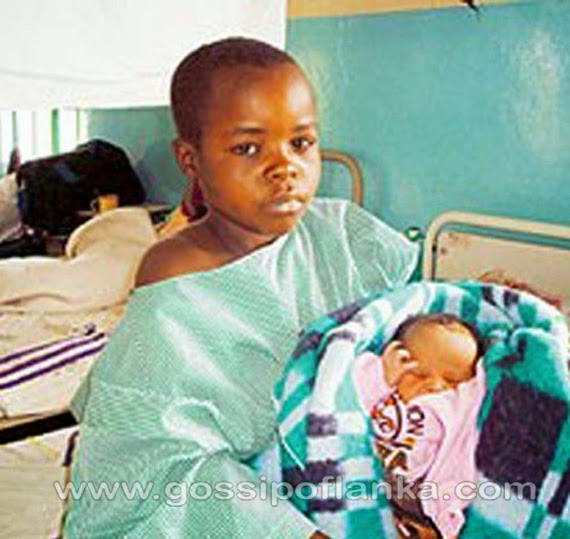 Gossip Lanka, Hiru Gossip, Lanka C News - 10-Year-Old Nigerian Girl gives Birth